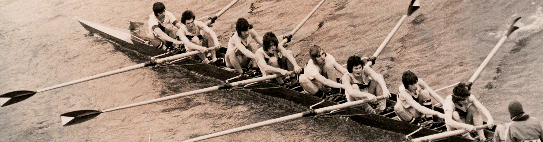 Rowing 1975 1st VIII Represented England